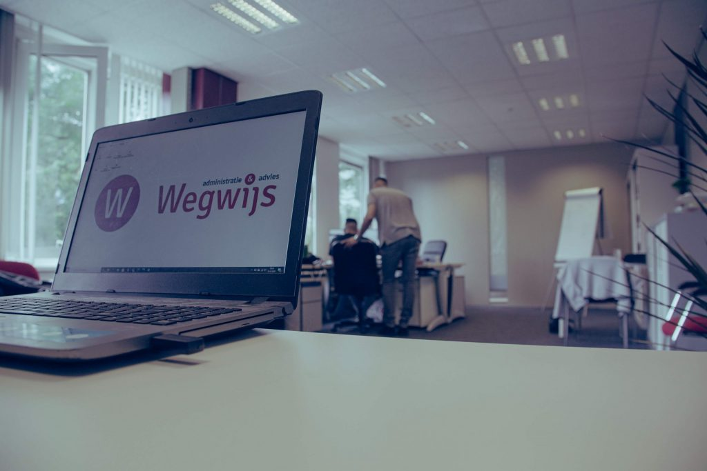 kantoorview Wegwijs Administratie & Advies